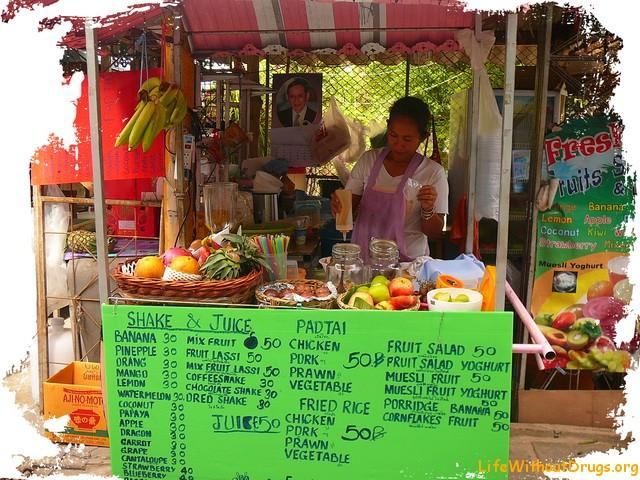 Ко Тао, цены, еда