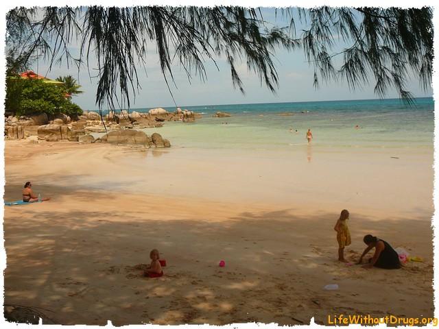 Ко Тао, особенности пляжа