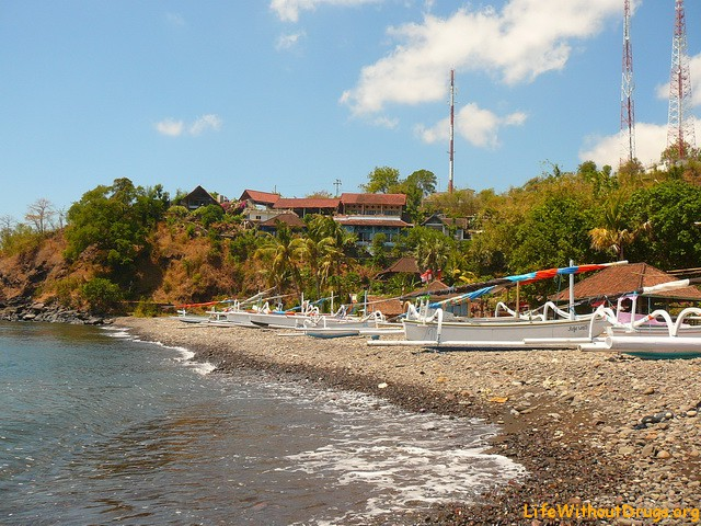 Пляжи Бали - пляж Амед