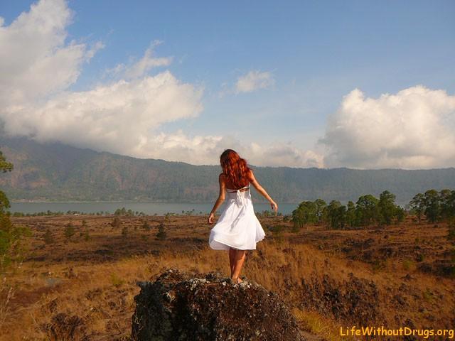 Возле вулкана и озера Батур, Бали
