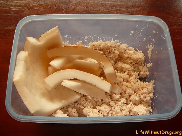 Ингредиенты для сыроедческих сладостей