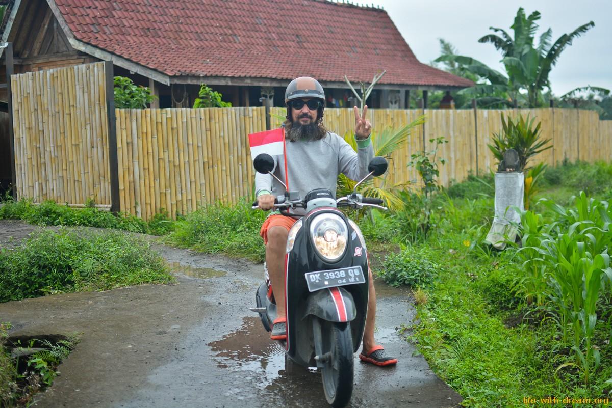 дороги Бали