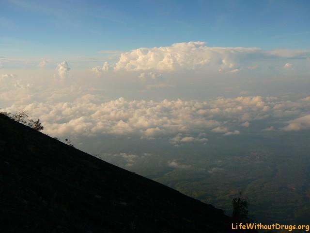 Восхождение на Великий вулкан Агунг
