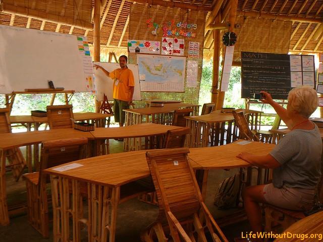 Зеленая школа. Бали