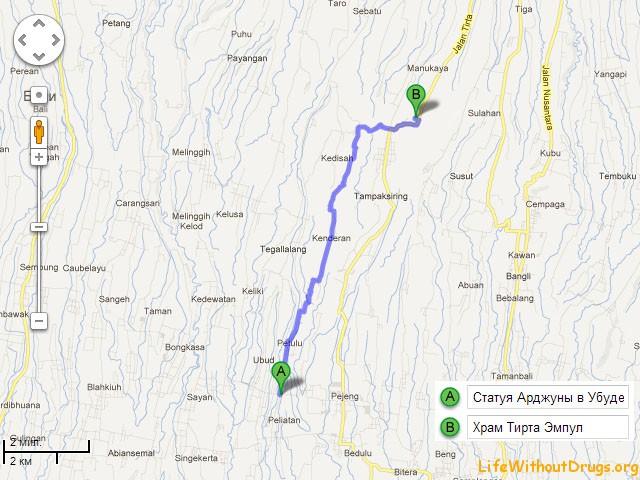 Tirta Empul — священный источник и древний храм на Бали