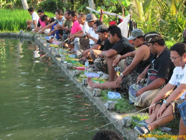 Ловля рыбы на Бали