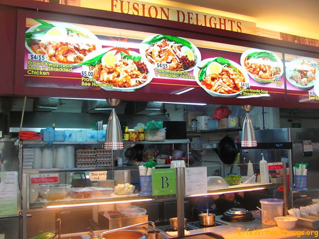 Фудкорты в Сингапуре
