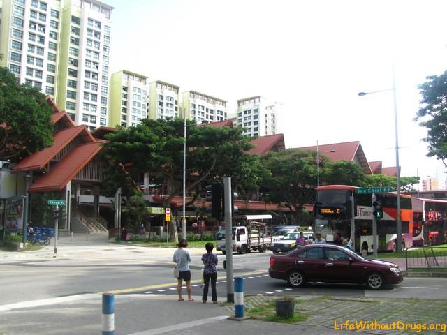 Китайский квартал в Сигнапуре