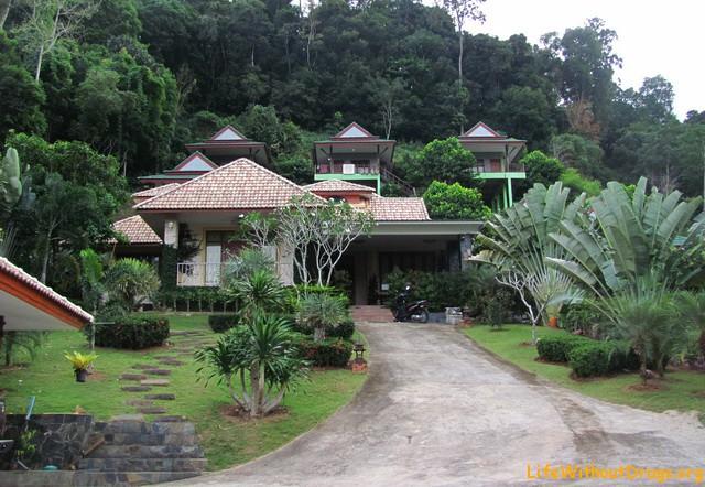 Домики на горе в Ао Нанге
