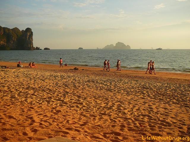 Главный пляж Ао Нанга