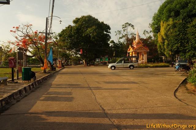 Площадь старого города Ко Ланта