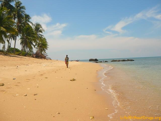 Пляжи на острове Ко Ланта