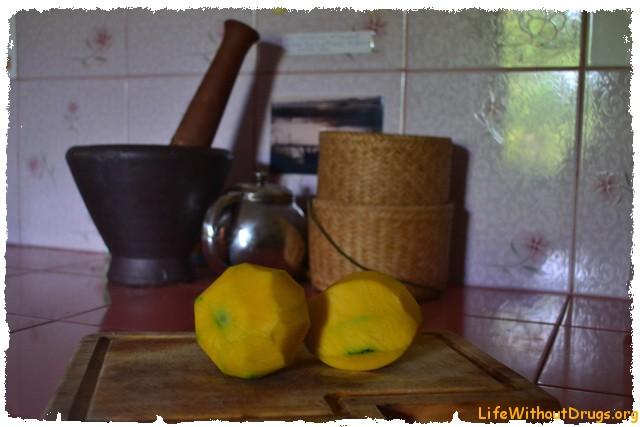 Рецепт салата из зеленого манго