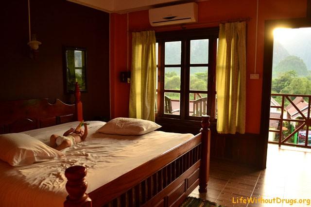 Наш милый номер в отеле Ванг Виенга