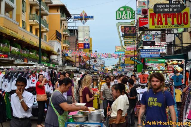 Старый добрый Каосан роад - Бангкок