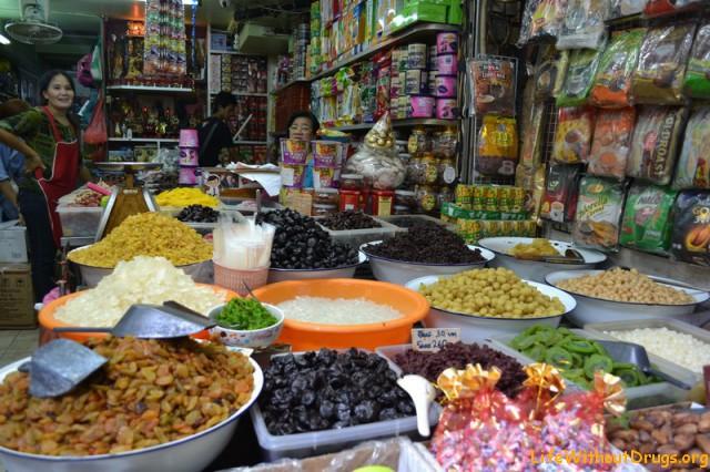 Китайский рынок в Бангкоке