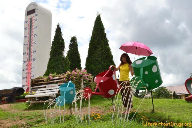 Провинция Лёй (Loei) - самое холодное место Таиланда