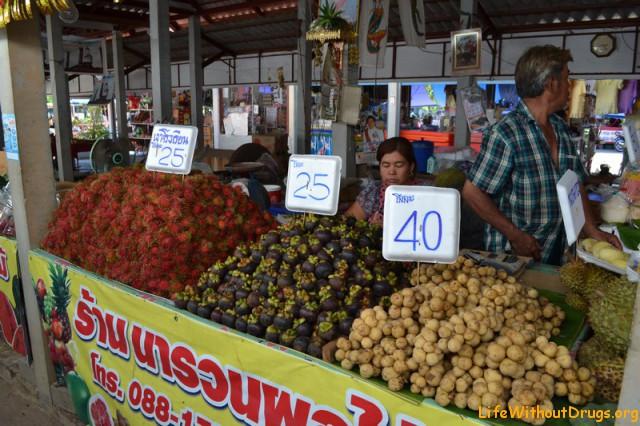 Рынок в Сукхотае