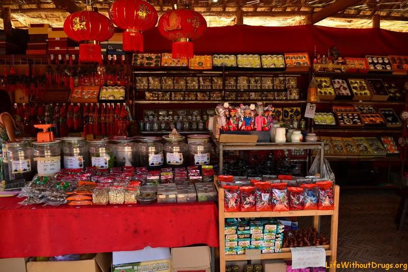 Магазин зеленого чая в Пае