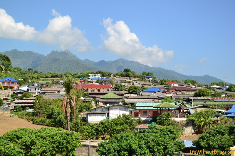 Деревушка Пай на краю Таиланда, и её окрестности.