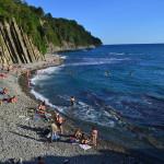 Отдых на черном море. Пляжи Туапсе, Небуг, Сочи. Обзор и фото.