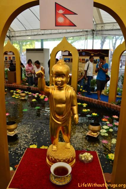 buddha from nepal