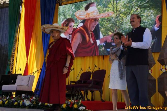 Далай Лама в Мексике (октябрь 2013 года)