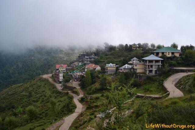Верхнеяя Дхарамсала, деревушка Naddi