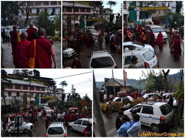 На уроке у Далай Ламы