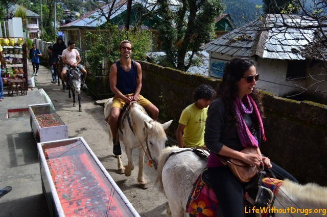 Путешествие в Индию, Дарамкот