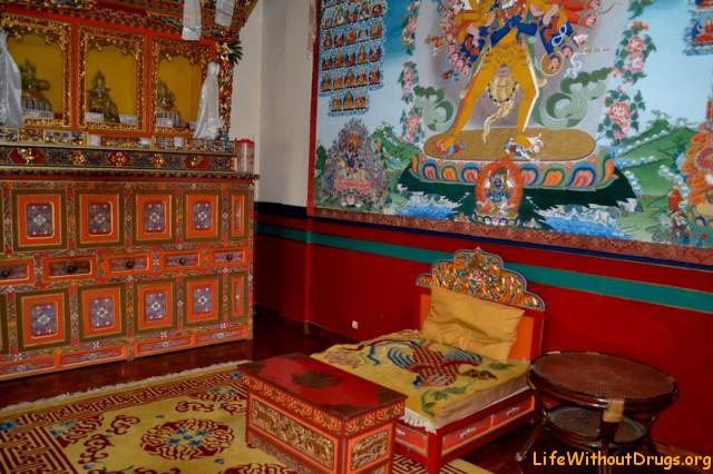 Институт Норбулингка - летняя резиденция Далай-ламы, Дарамсала