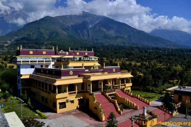 Тибетский монастырь Гьюто, фото