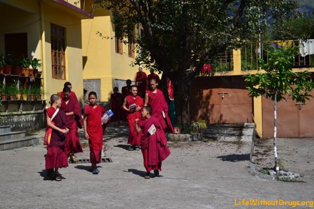 Тибетский монастырь Гьюто - фото