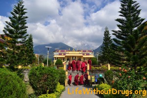Тибетский монастырь Гьюто