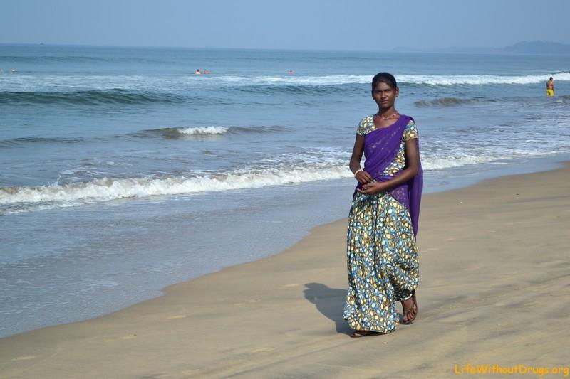 познакомились, поговорили индианки на пляже очень хорошо разбираюсь