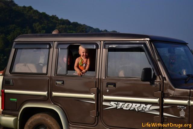 Путешествие на машине Гоа- Гокарна