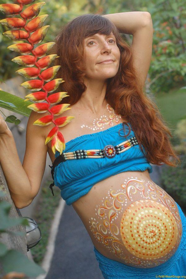 Моя беременность на Бали