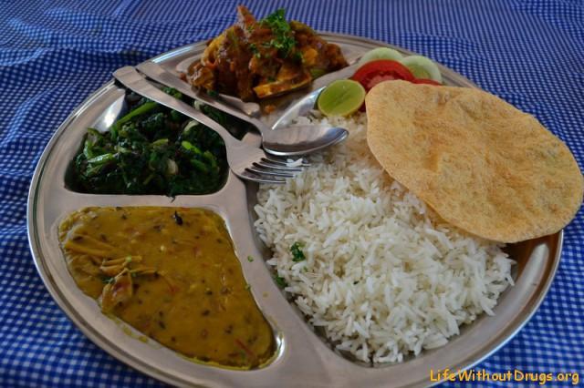 Еда в Гоа