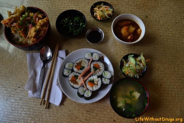 Японская кухня в Дарамсале