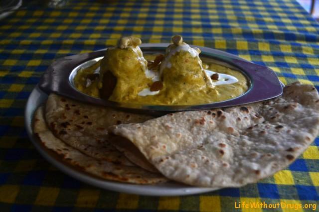 Индийская кухня. Малай-кофта.