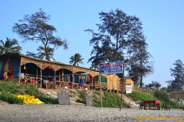 Рестораны на берегу в Гоа