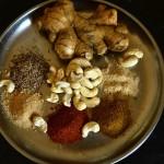 Индийские рецепты. Навратан корма и лепешки с зеленью.