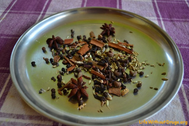 Индийская кухня. Масала чай