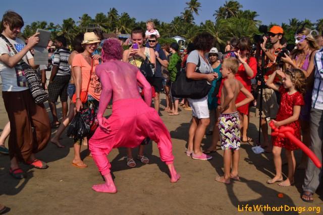 Фестиваль фриков в Гоа - фоторепортаж
