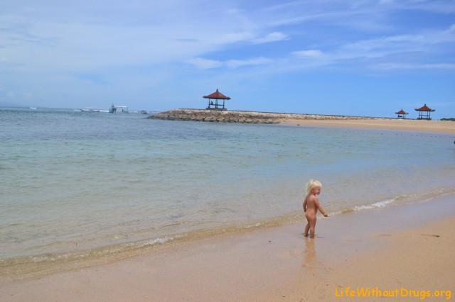 Детские пляжи на Бали