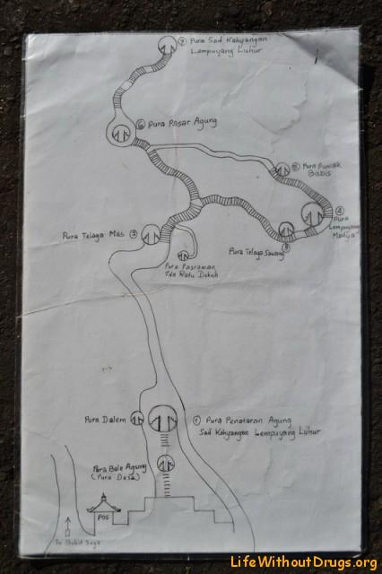 Карта храма