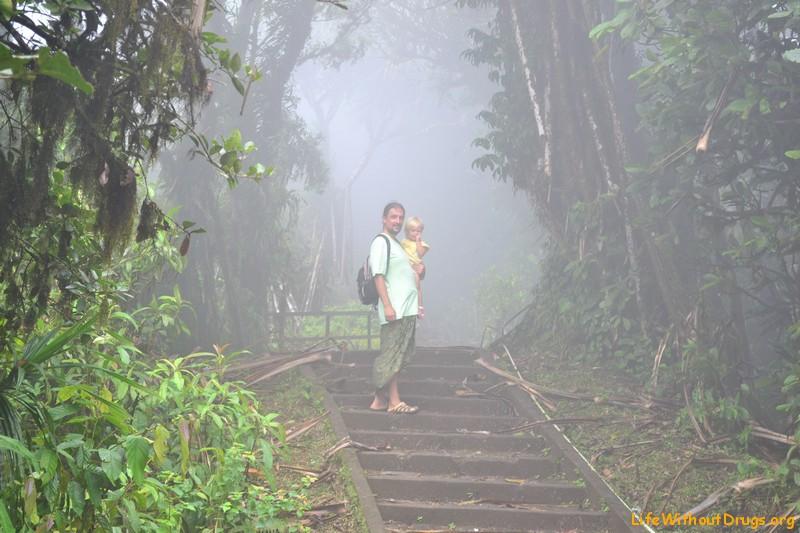 Дорога к храму на Бали
