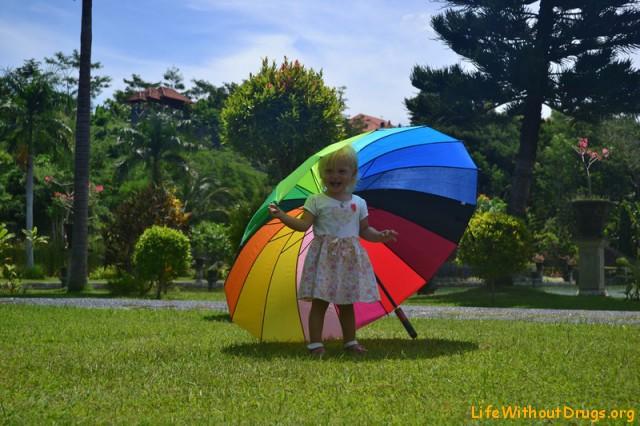 На Бали с детьми