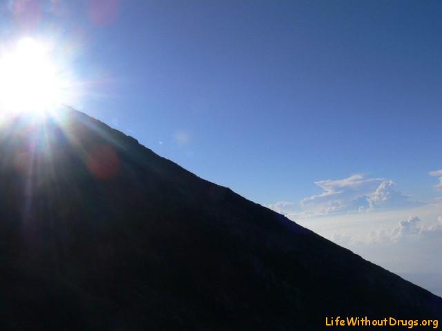 Великий вулкан Агунг