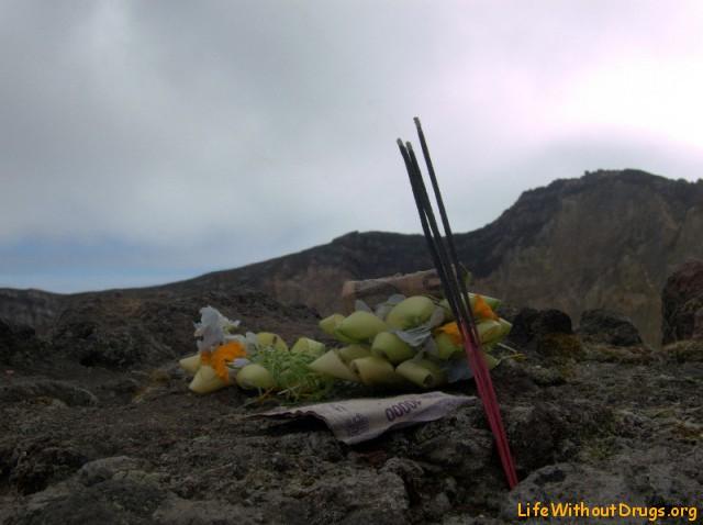 ритуал на вершине Агунга